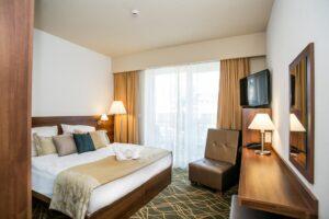 Bonvital Wellness & Gastro Hotel - Deluxe French Room with Balcony